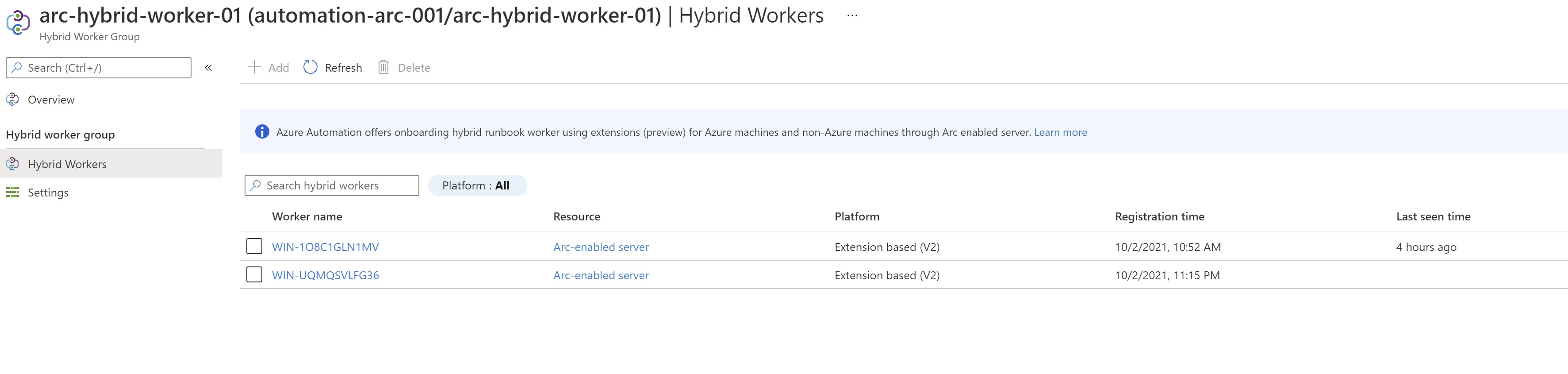 Add all hybrid workers
